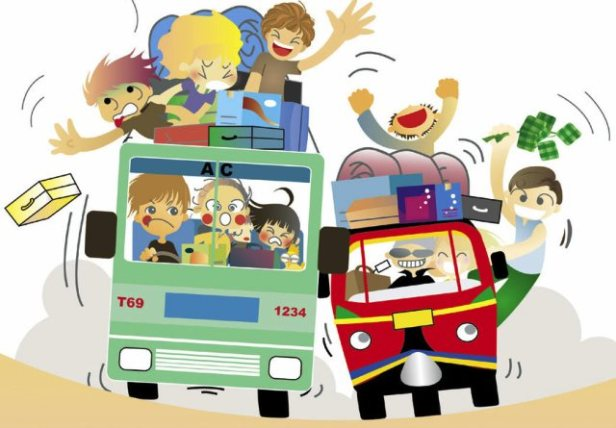 Mudik. Ilustrasi dari suyatno.wordpress.com